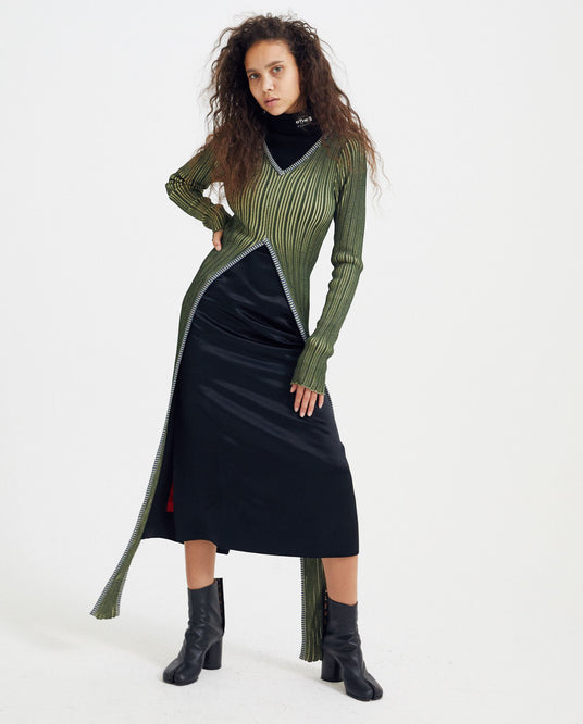 Cut Out Knit - Green WOMENS Y / PROJECT