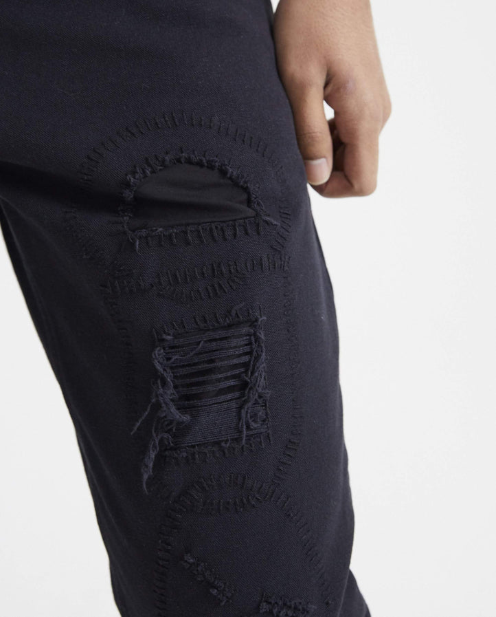 Darts Pant Broken - Black MENS VYNER ARTICLES