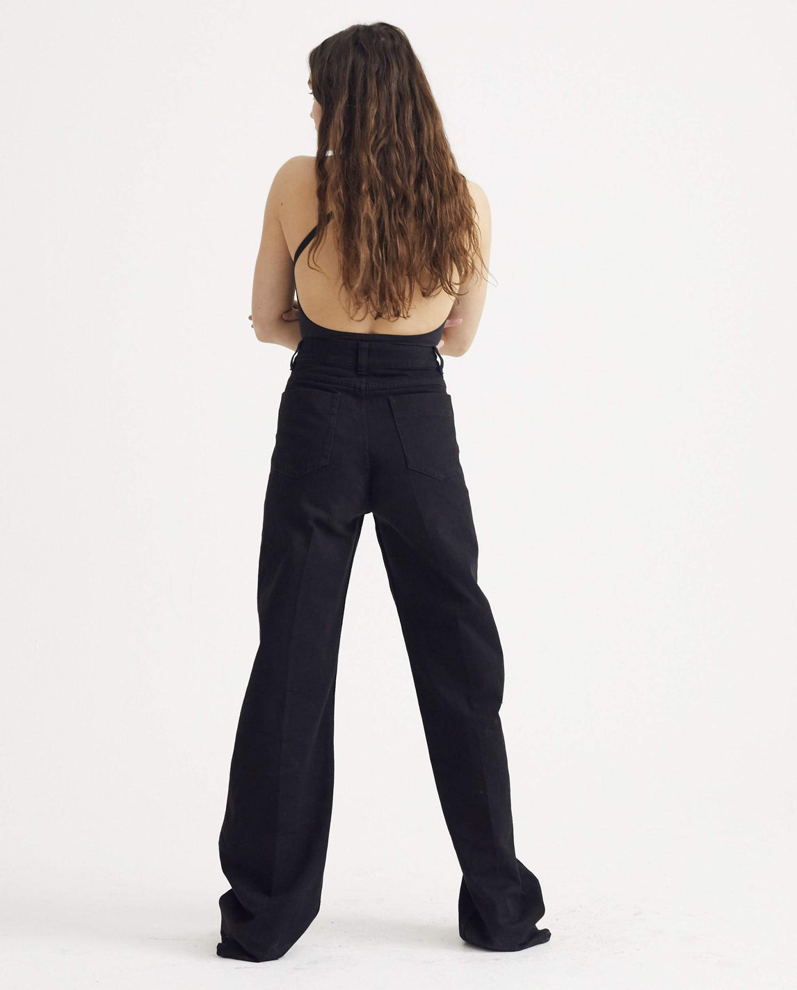 Denim Pants - Black WOMENS LEMAIRE