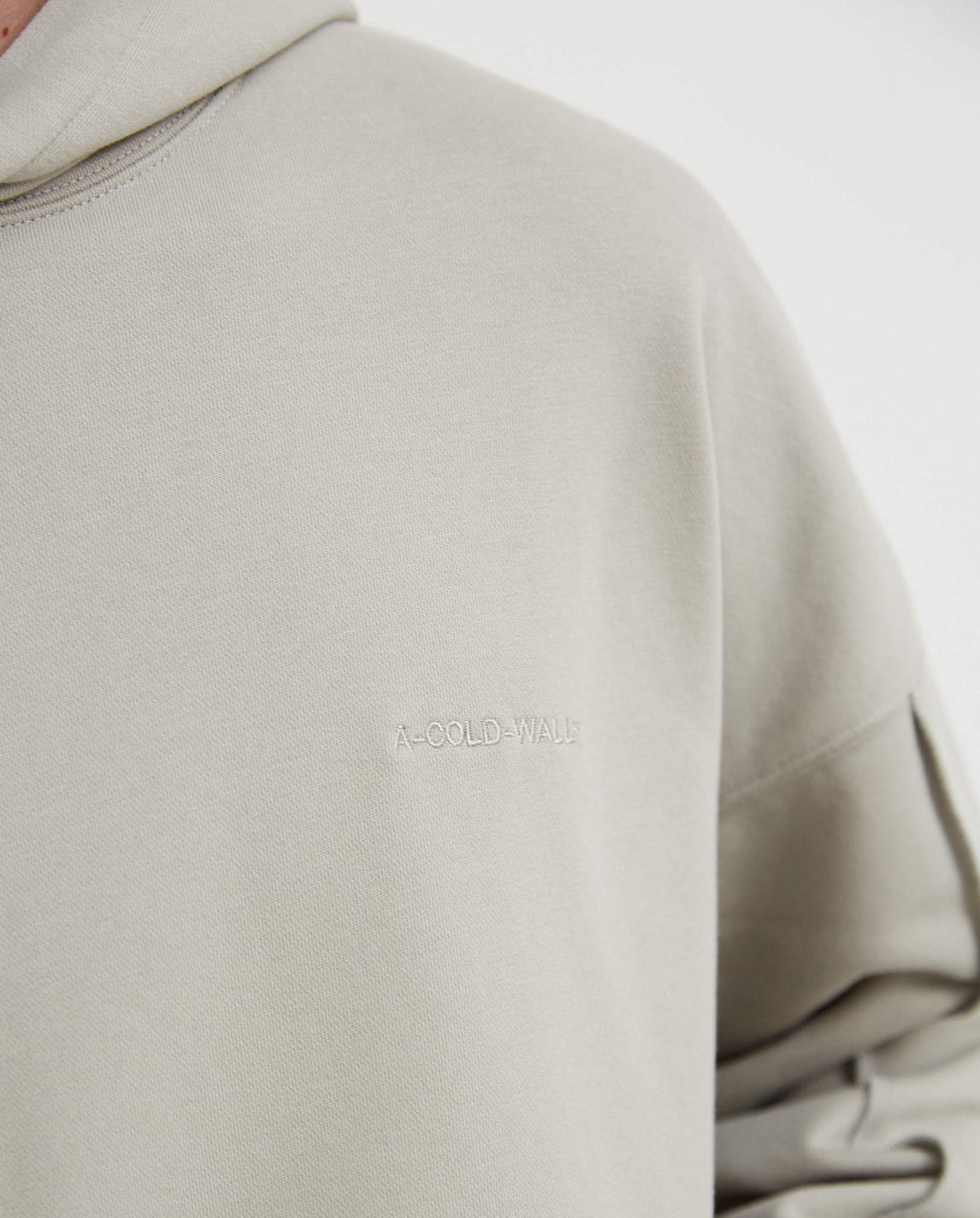 Dissection Hoodie - Pale Grey MENS A-COLD-WALL*