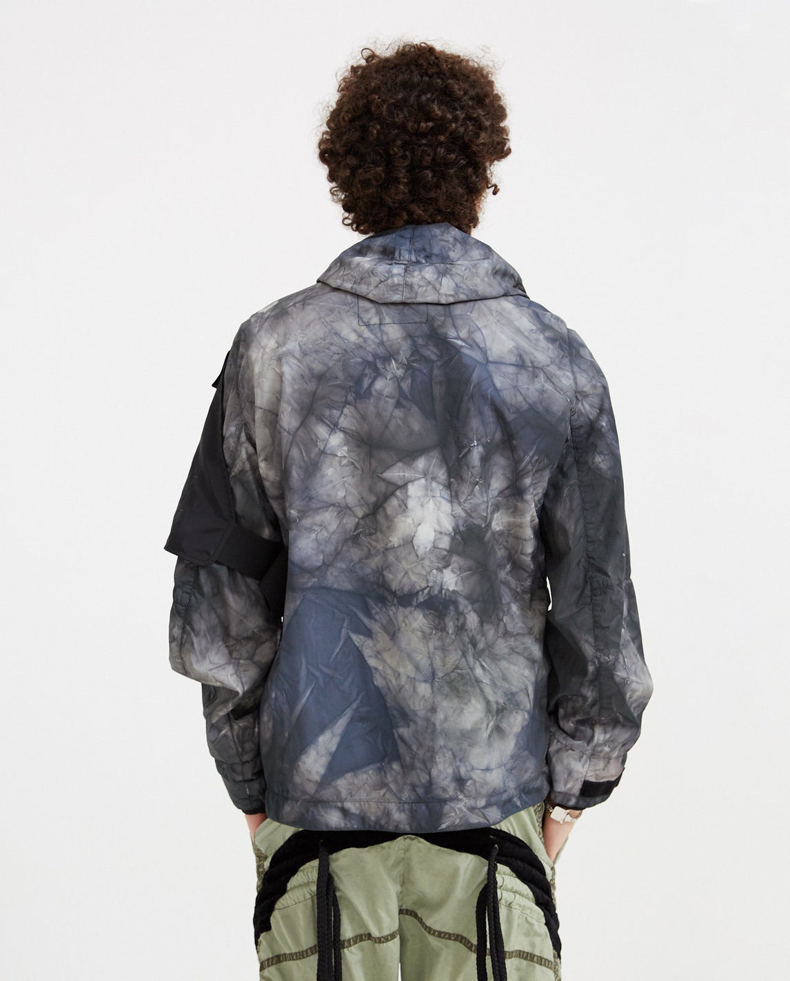 Does 3L Tie-Dye Jacket - Ice Grey MENS NEMEN