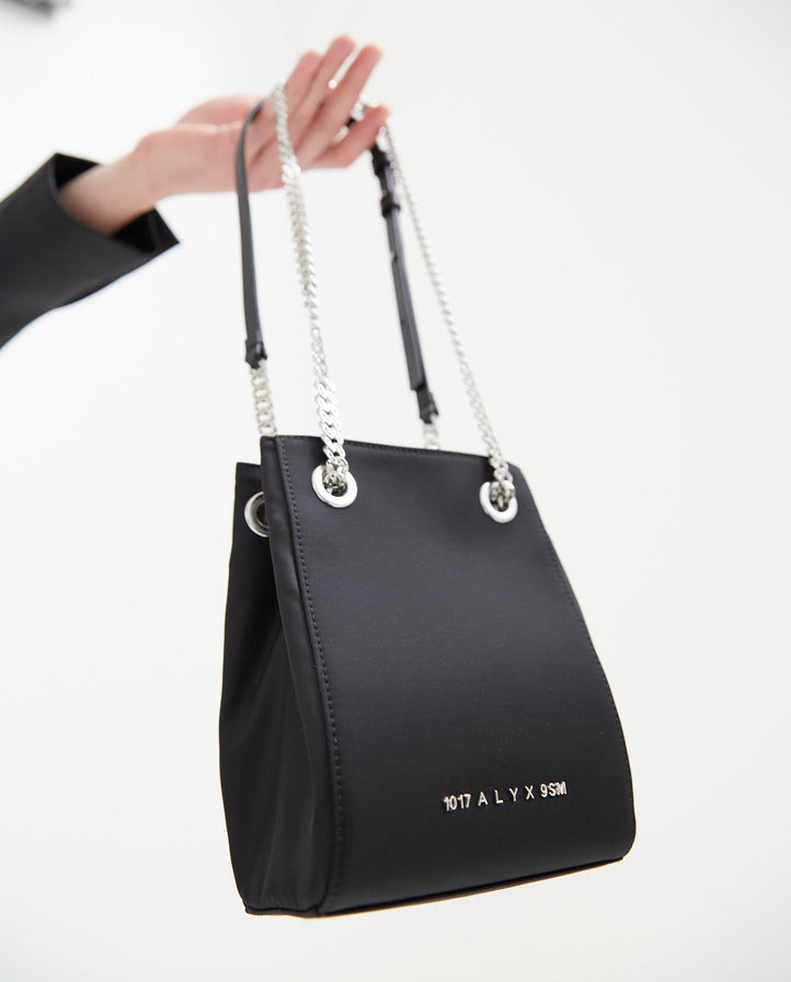 Drawstring Shoulder Bag - Black UNISEX 1017 ALYX 9SM