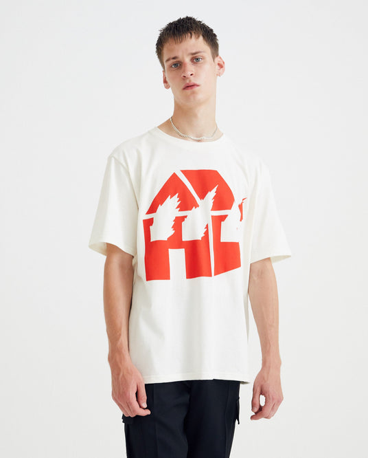 DW T-Shirt - Chalk / Red UNISEX JW ANDERSON