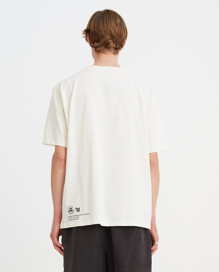 DW T-Shirt - Chalk/Black MENS JW ANDERSON