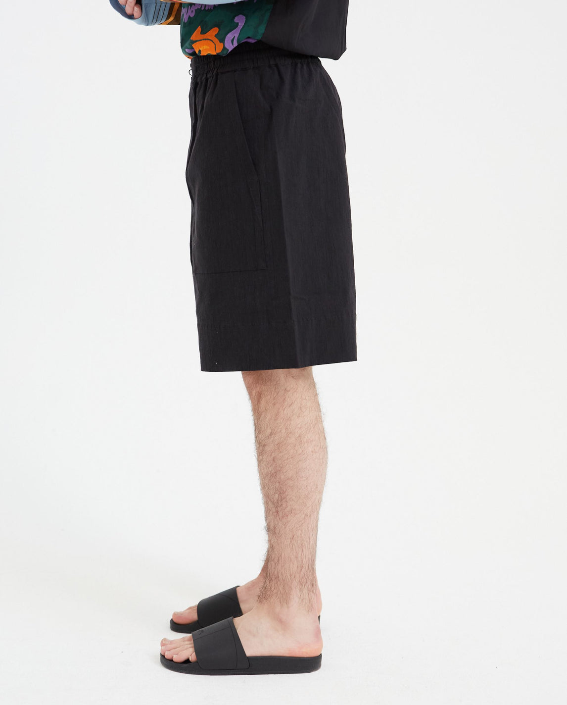 Elastic Crisp Shorts - Black UNISEX Pronounce