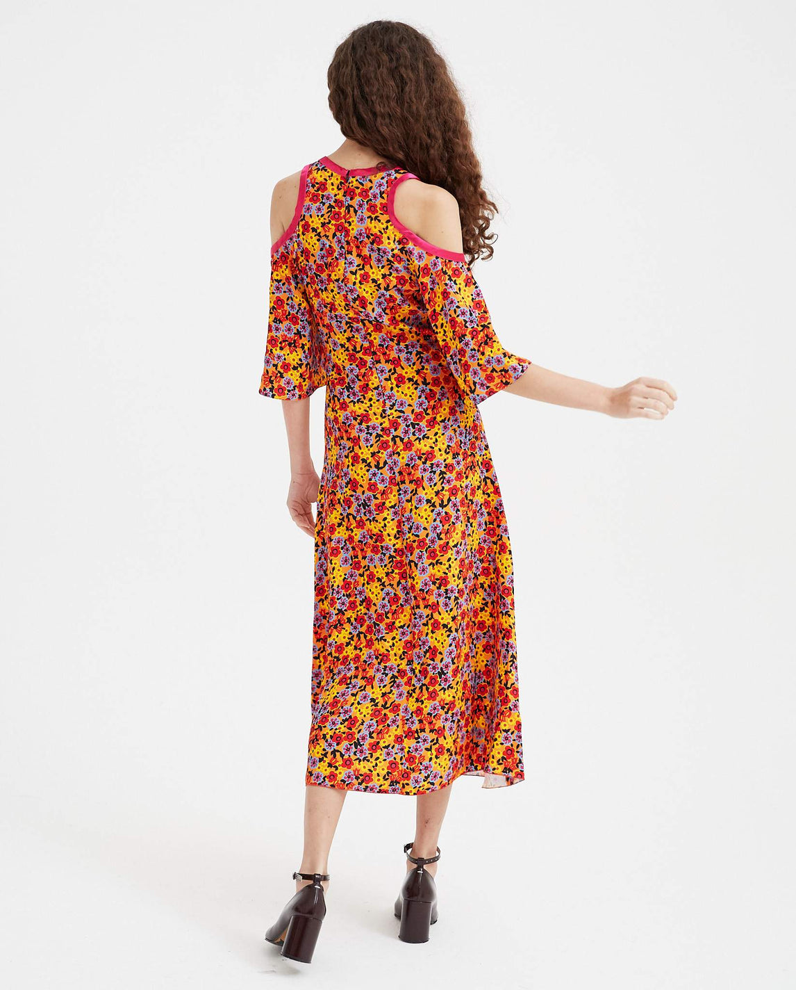 Floral Dress - Multi WOMENS MARNI