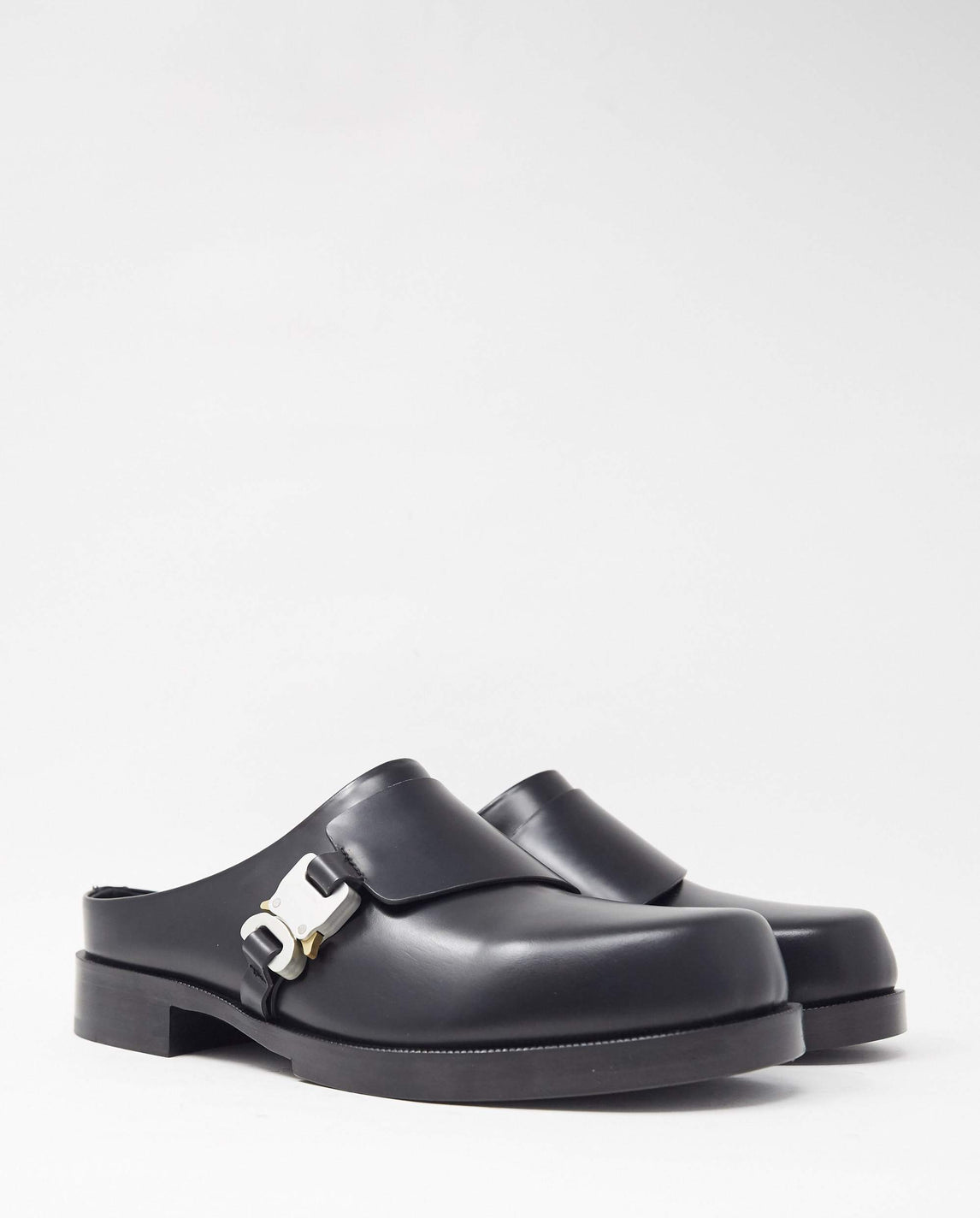 Formal Clog With Buckle - Black UNISEX 1017 ALYX 9SM