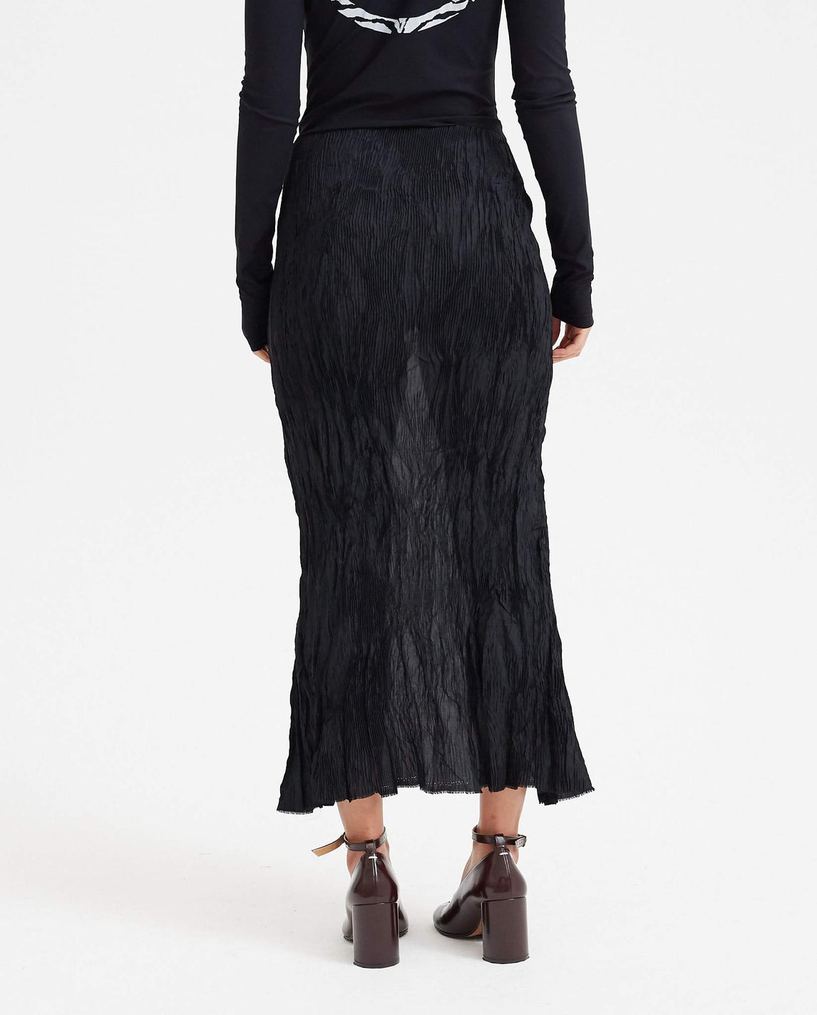 Fortune Skirt - Coal Black UNISEX SAMUEL GUI YANG