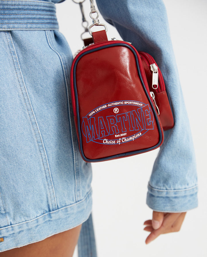 Galaxy Bag - Red UNISEX MARTINE ROSE
