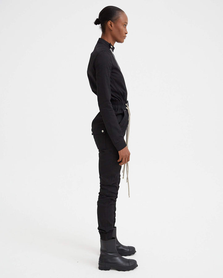 Gary Flightsuit - Black WOMENS RICK OWENS