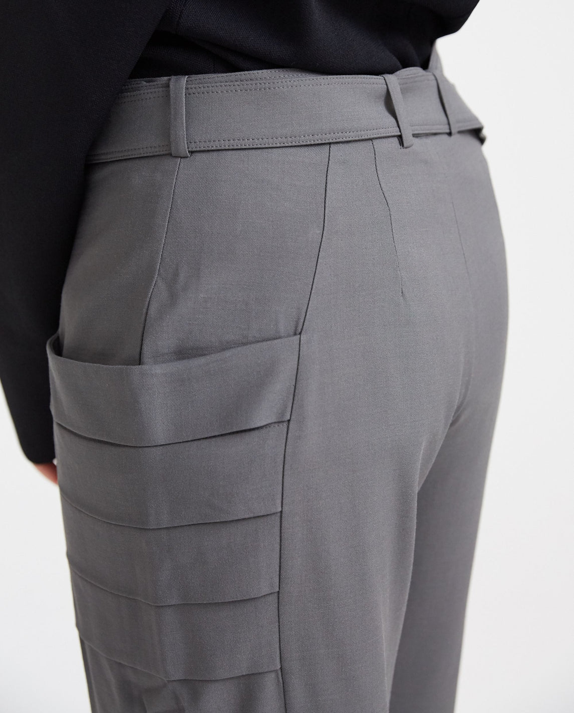 Gill Pocket Trousers - Grey WOMENS VEJAS