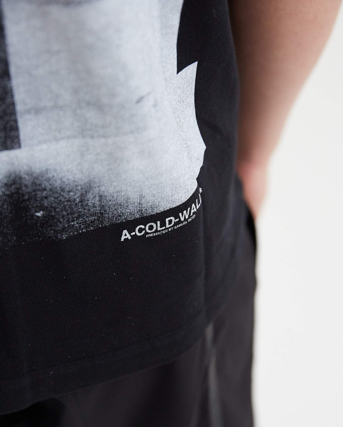 Graphic T-Shirt - Black MENS A-COLD-WALL*