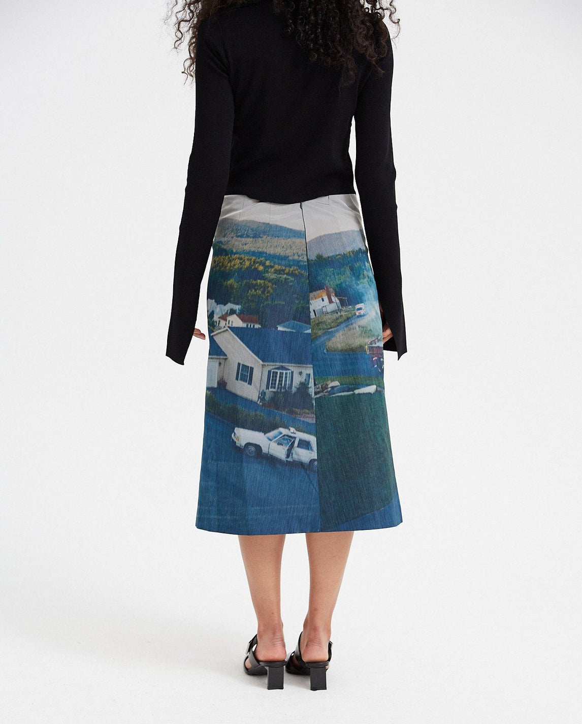 Gregory Skirt - Blue / Green WOMENS NAMACHEKO