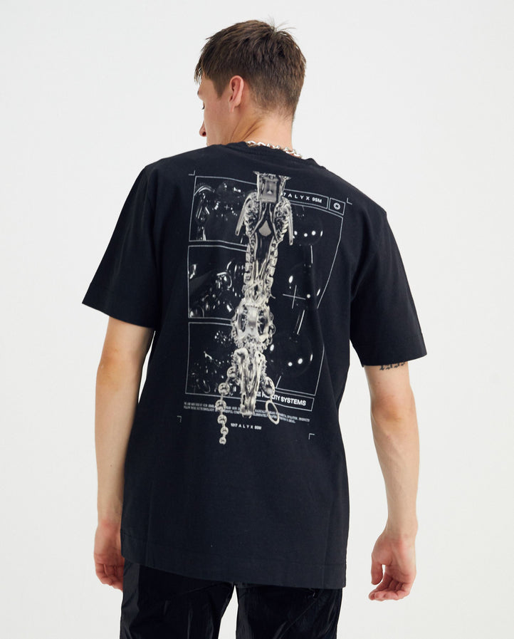 Grid T-Shirt - Black MENS 1017 ALYX 9SM