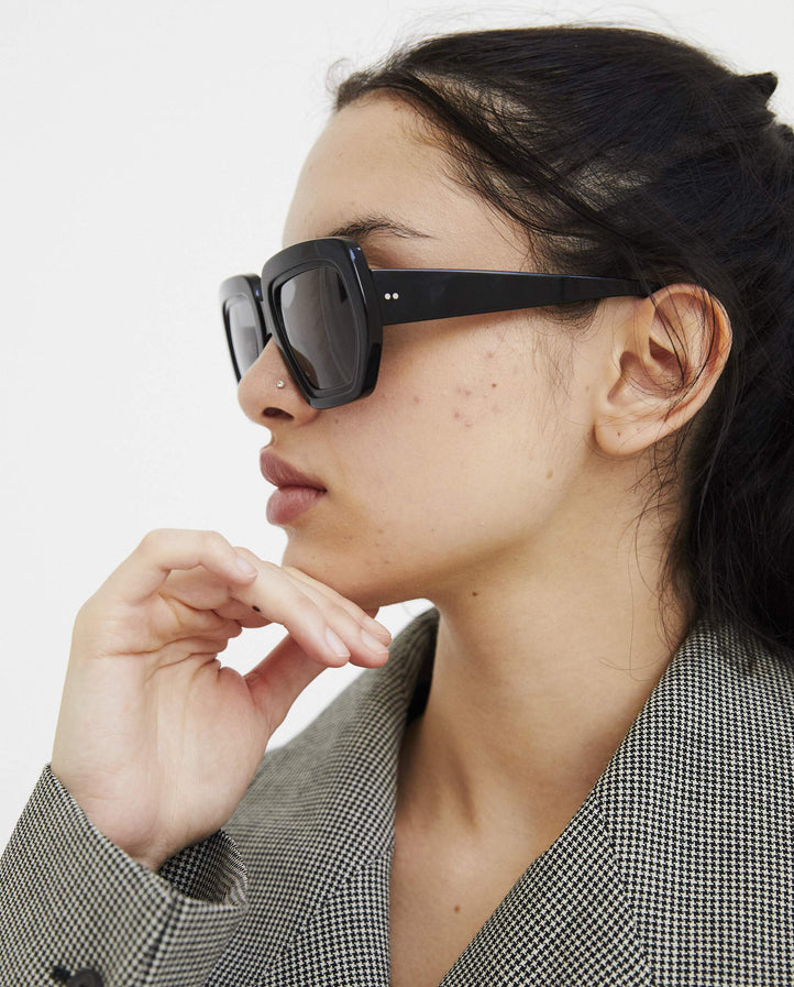 Gritty Glasses - Black UNISEX MARTINE ROSE