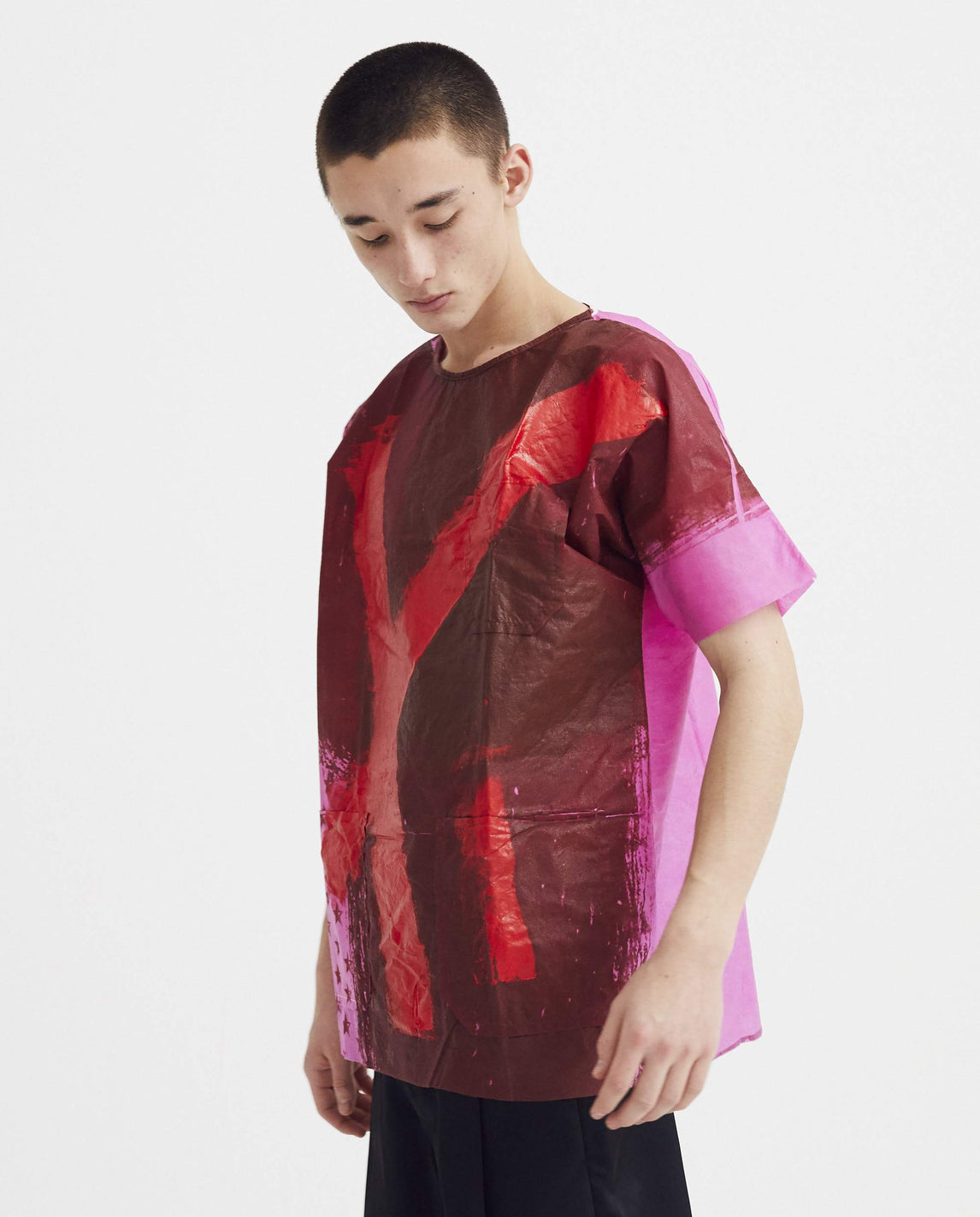 Hand Painted Hospital Top - Multicoloured MENS RAF SIMONS