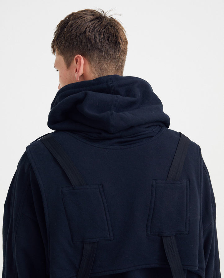 Harness Hoodie - Black MENS PRIVATE POLICY