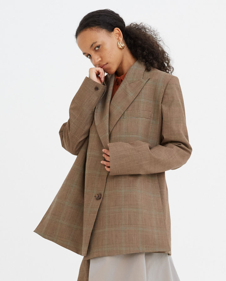 Hidden Pockets Blazer - Camel WOMENS EFTYCHIA