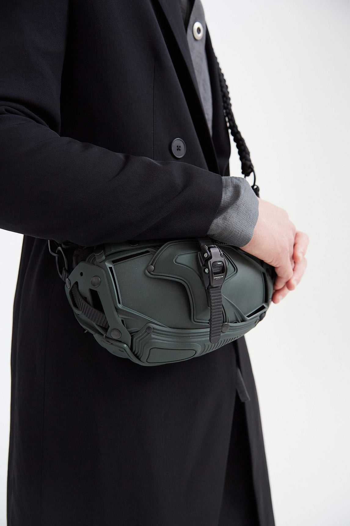 I30 Cross Body Bag - Matte Green UNISEX INNERRAUM