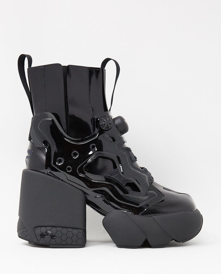 Insta Pump Ankle Boot High Heel - Black UNISEX MM6 MAISON MARGIELA X REEBOK
