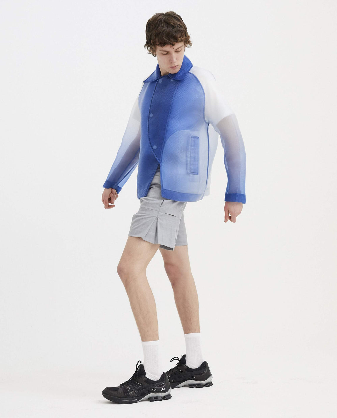Jacket - Blue and White MENS CORNERSTONE