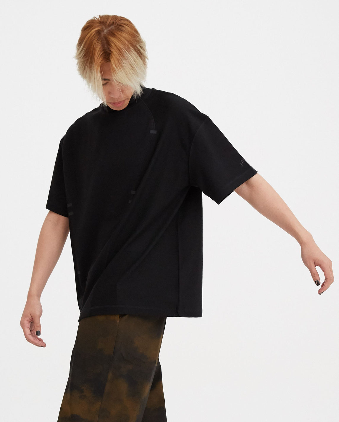 Knitted Double Layer T-Shirt - Black MENS A-COLD-WALL*