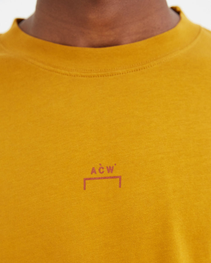 Knitted Erosion T-Shirt - Saffron MENS A-COLD-WALL*