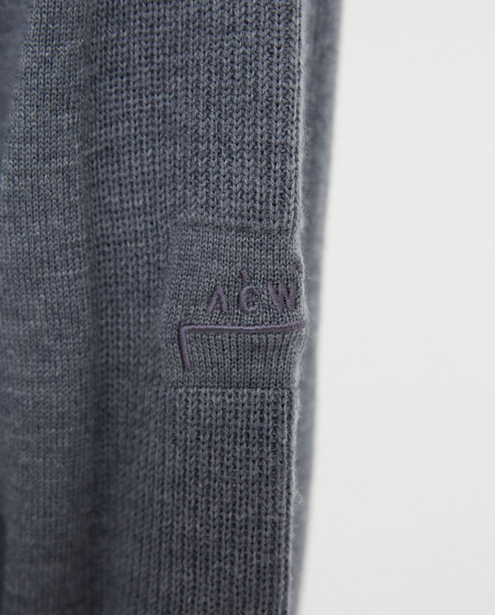 Knitted Polo - Grey MENS A-COLD-WALL*