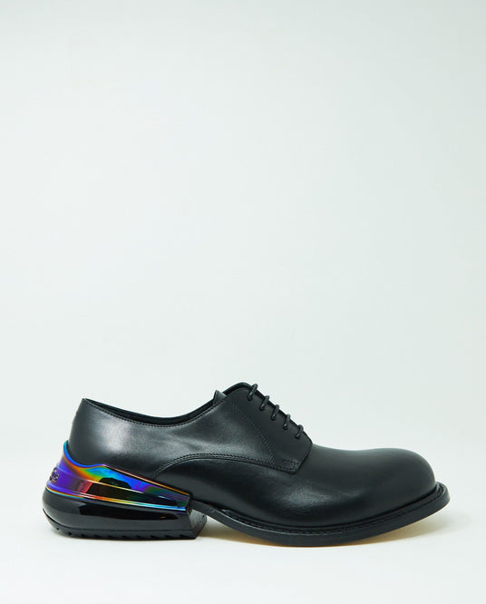 Lace-Up Formal Shoe - Black / Multi MENS MAISON MARGIELA