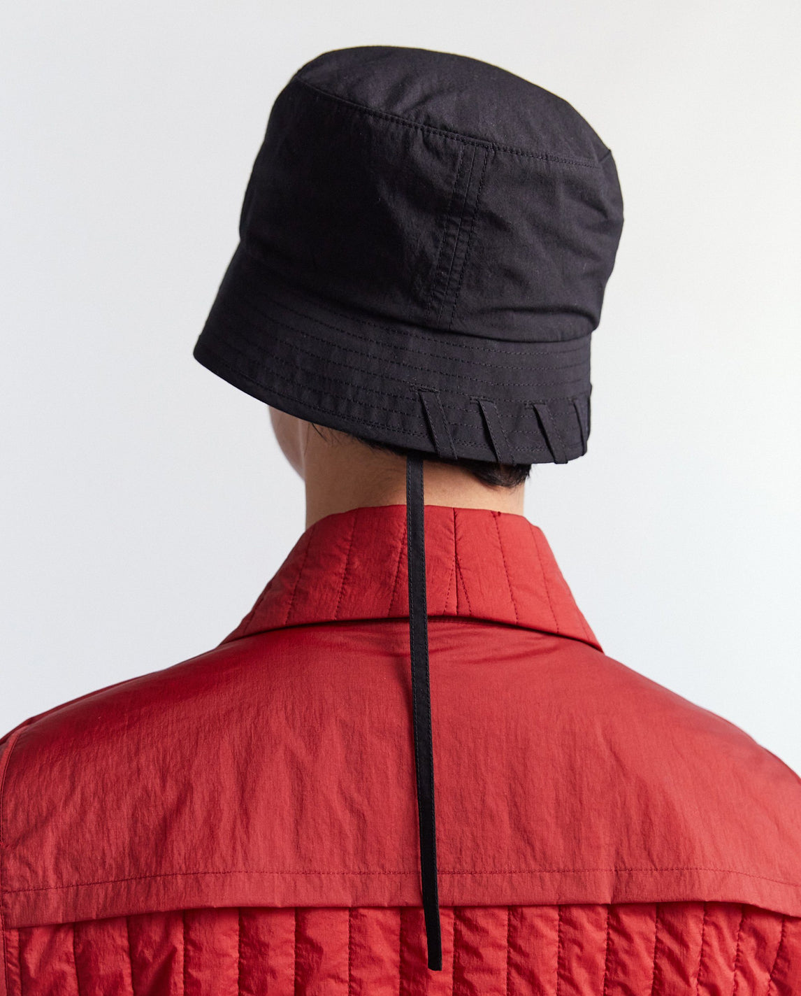 Laced Bucket Hat - Black MENS CRAIG GREEN
