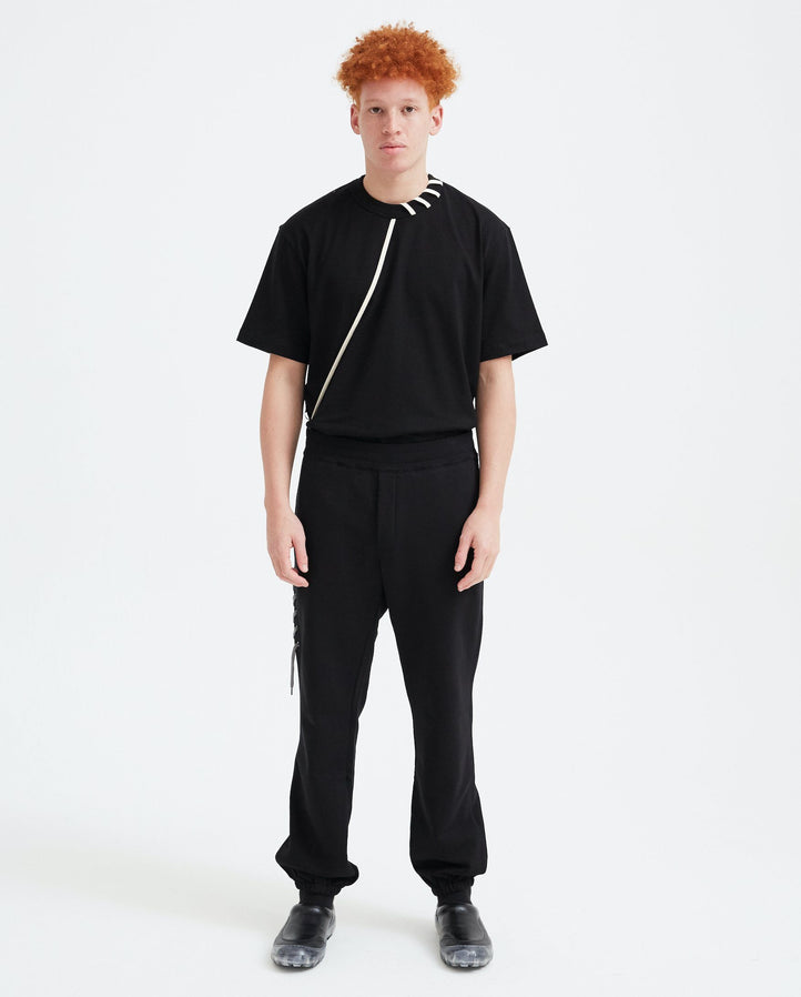 Laced Sweatpant - Black/Grey MENS CRAIG GREEN