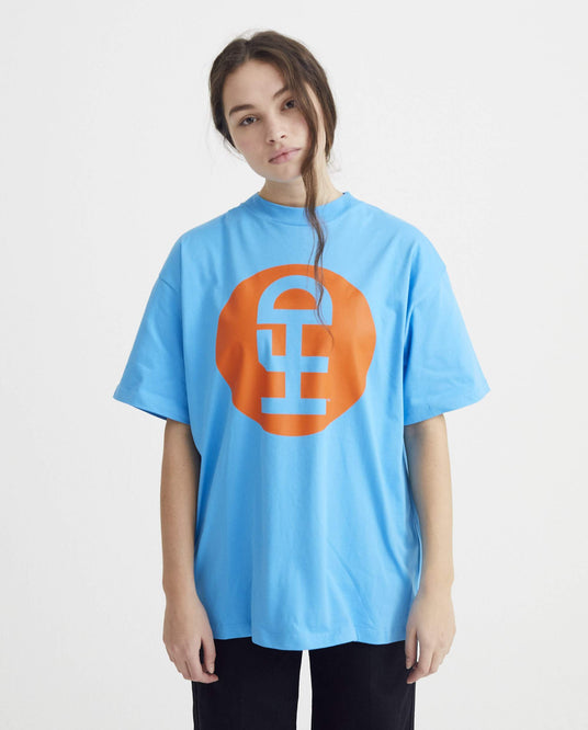 Large Logo - Blue UNISEX HONEY FUCKING DIJON