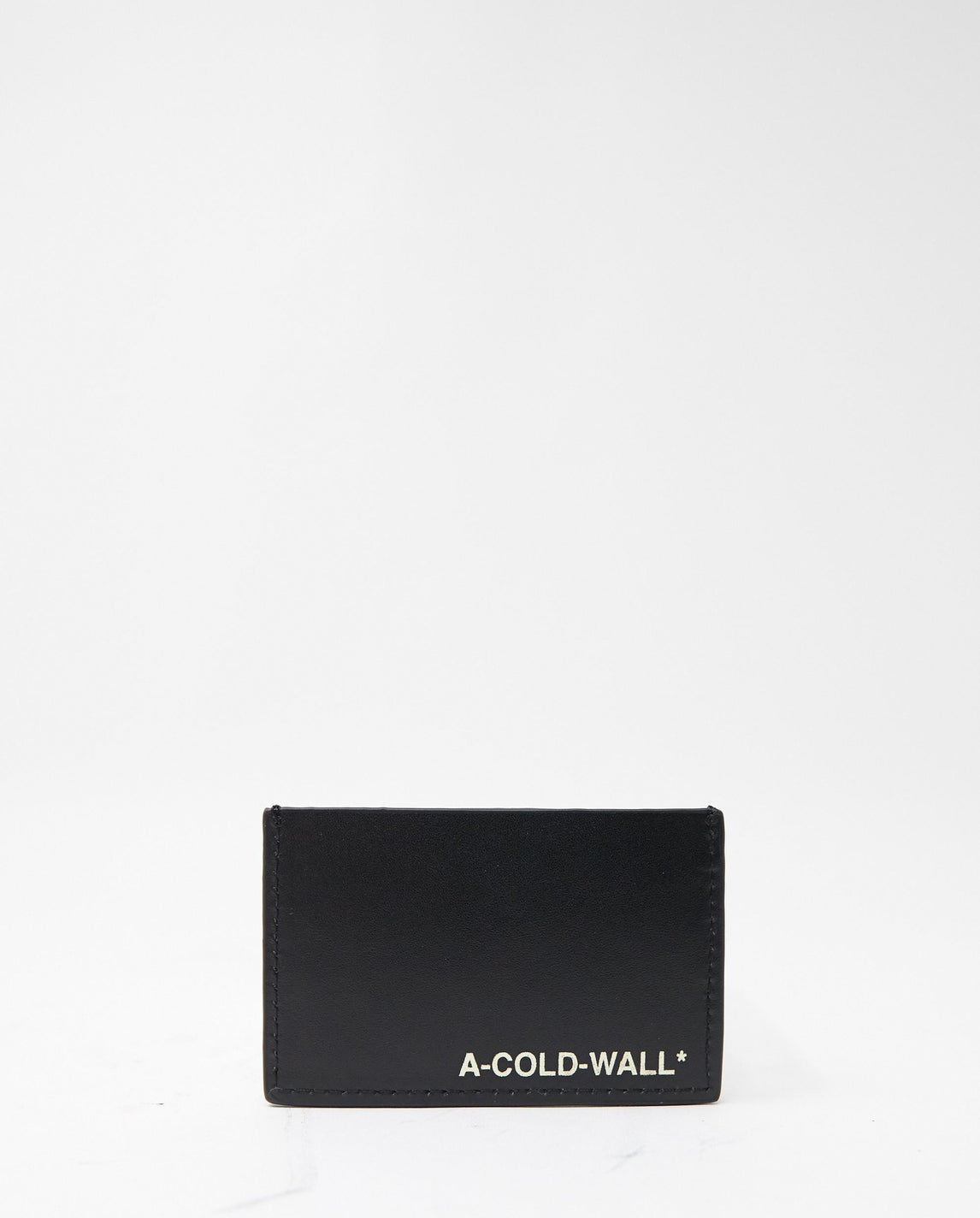 Leather Card Holder - Black UNISEX A COLD WALL