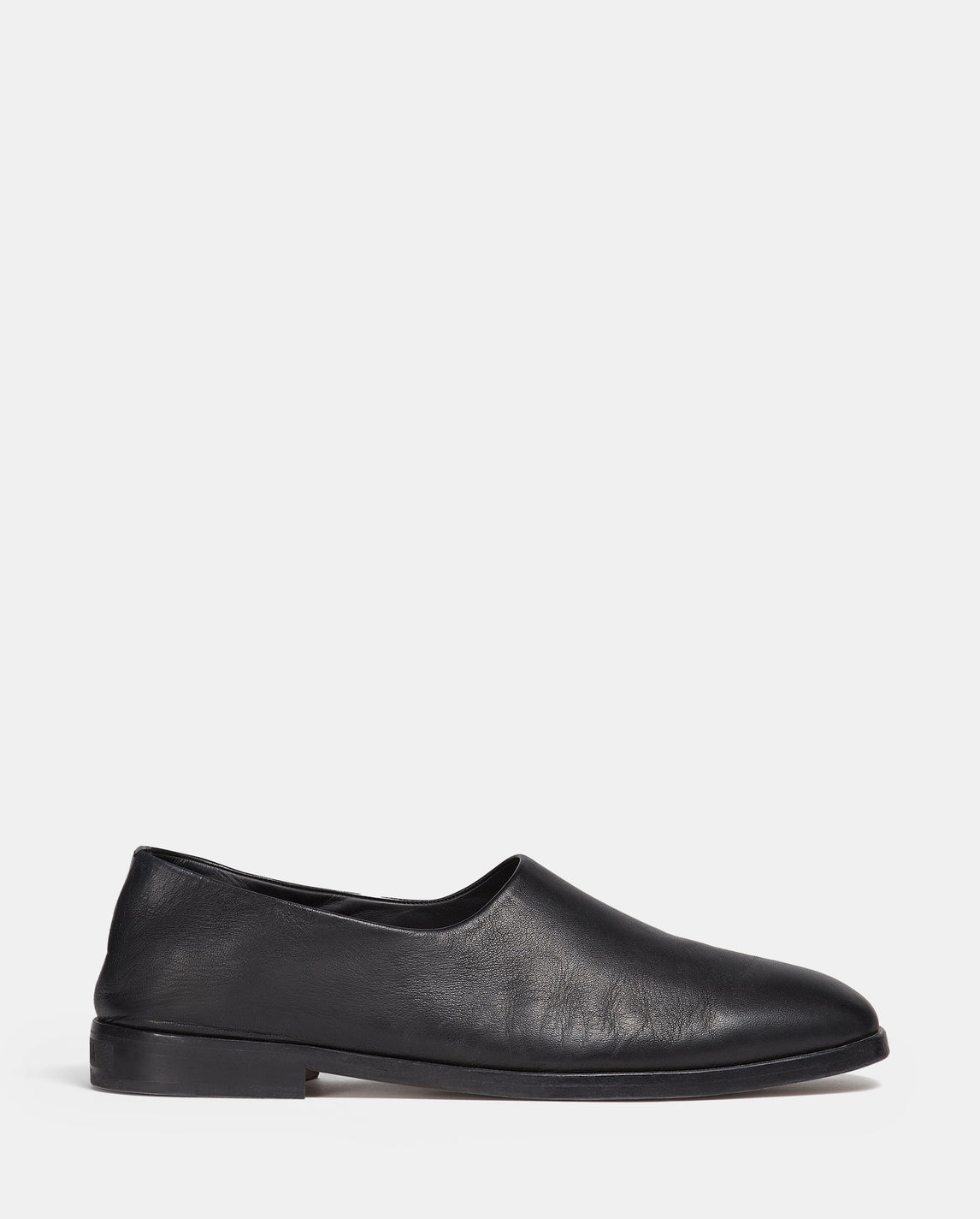 Leather Slip On - Black MENS FEAR OF GOD X ZEGNA