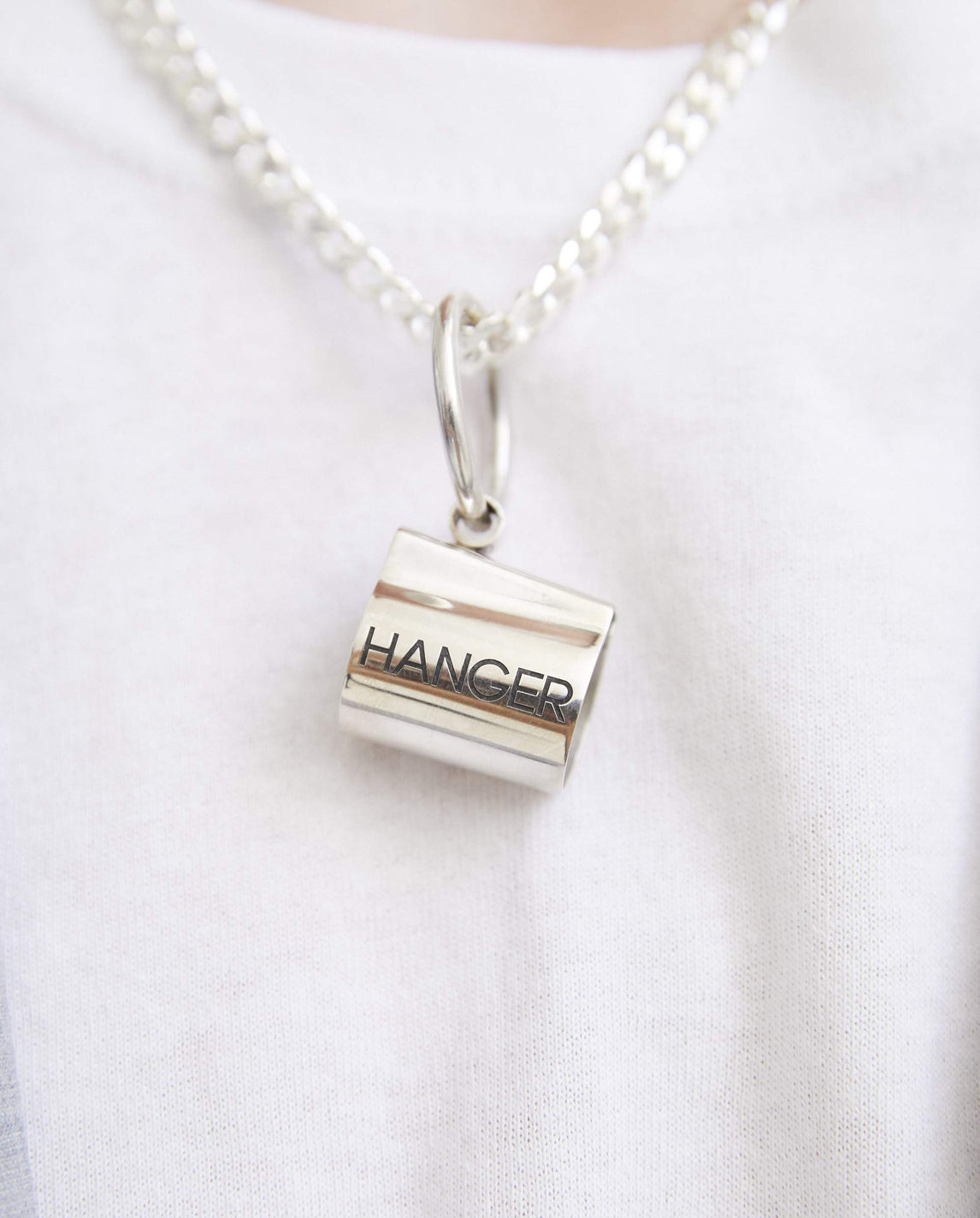 Lighter Case With Chain - Silver UNISEX HANGER