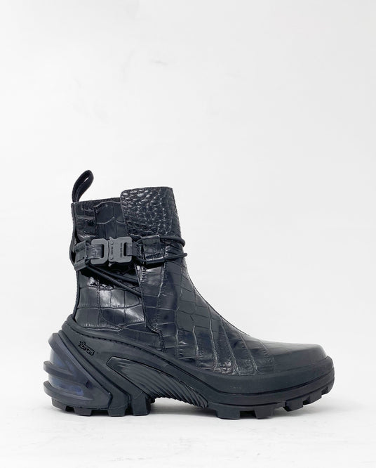 Low Buckle Boot With Fixed Sole - Black UNISEX 1017 ALYX 9SM