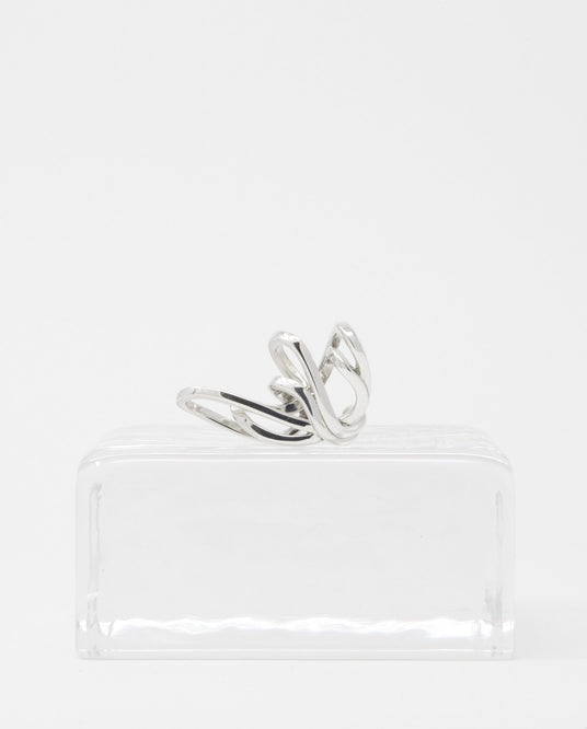 Maxi Space Ear Cuff - Silver UNISEX ALAN CROCETTI