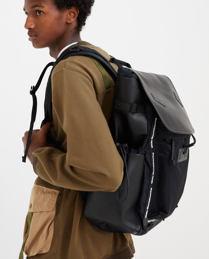 Military Backpack - Black MENS WHITE MOUNTAINEERING