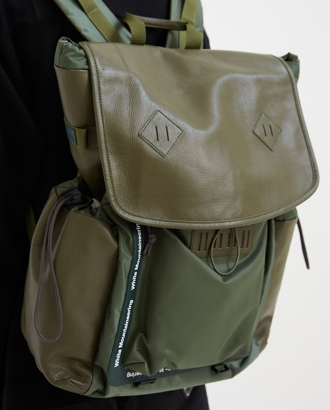 Military Backpack - Khaki MENS WHITE MOUNTAINEERING