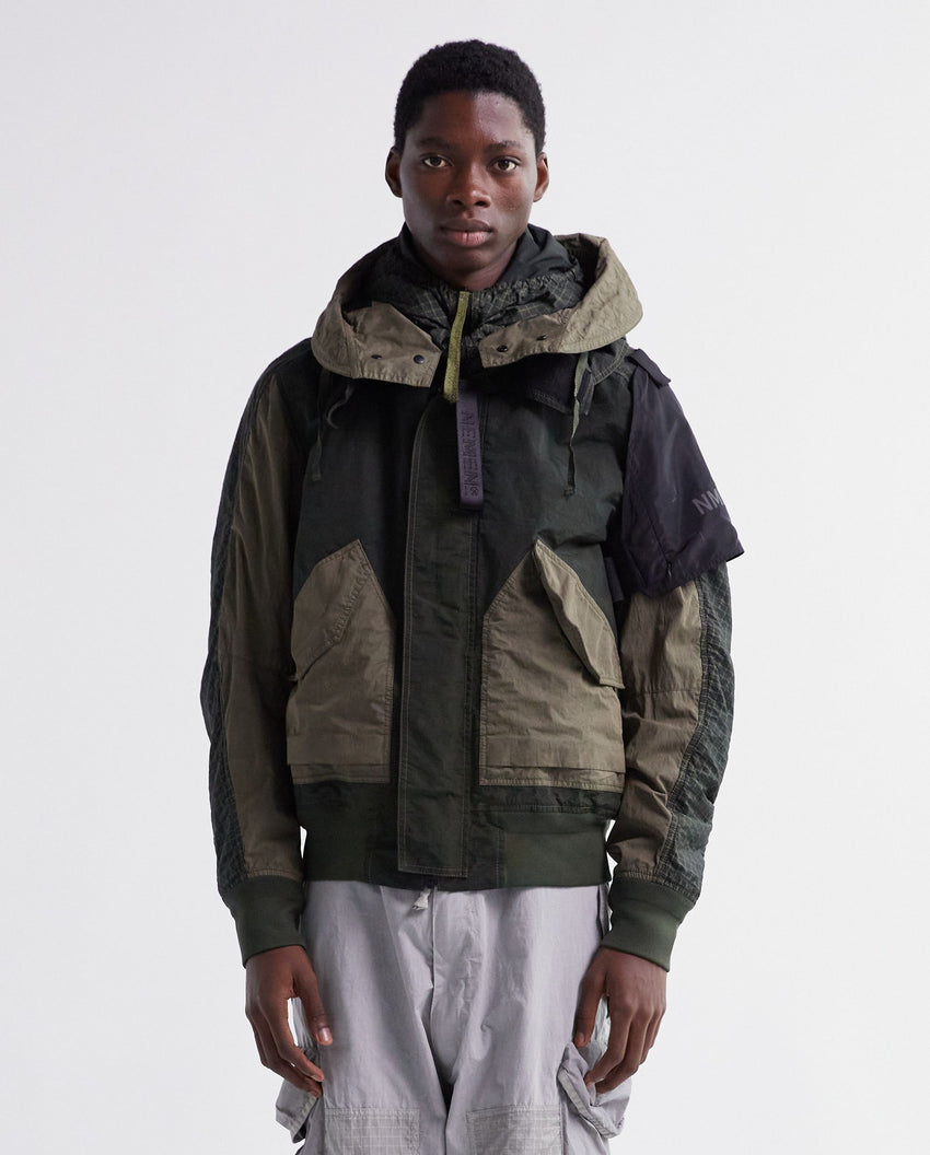 Military Bomber Jacket - Green MENS Nemen