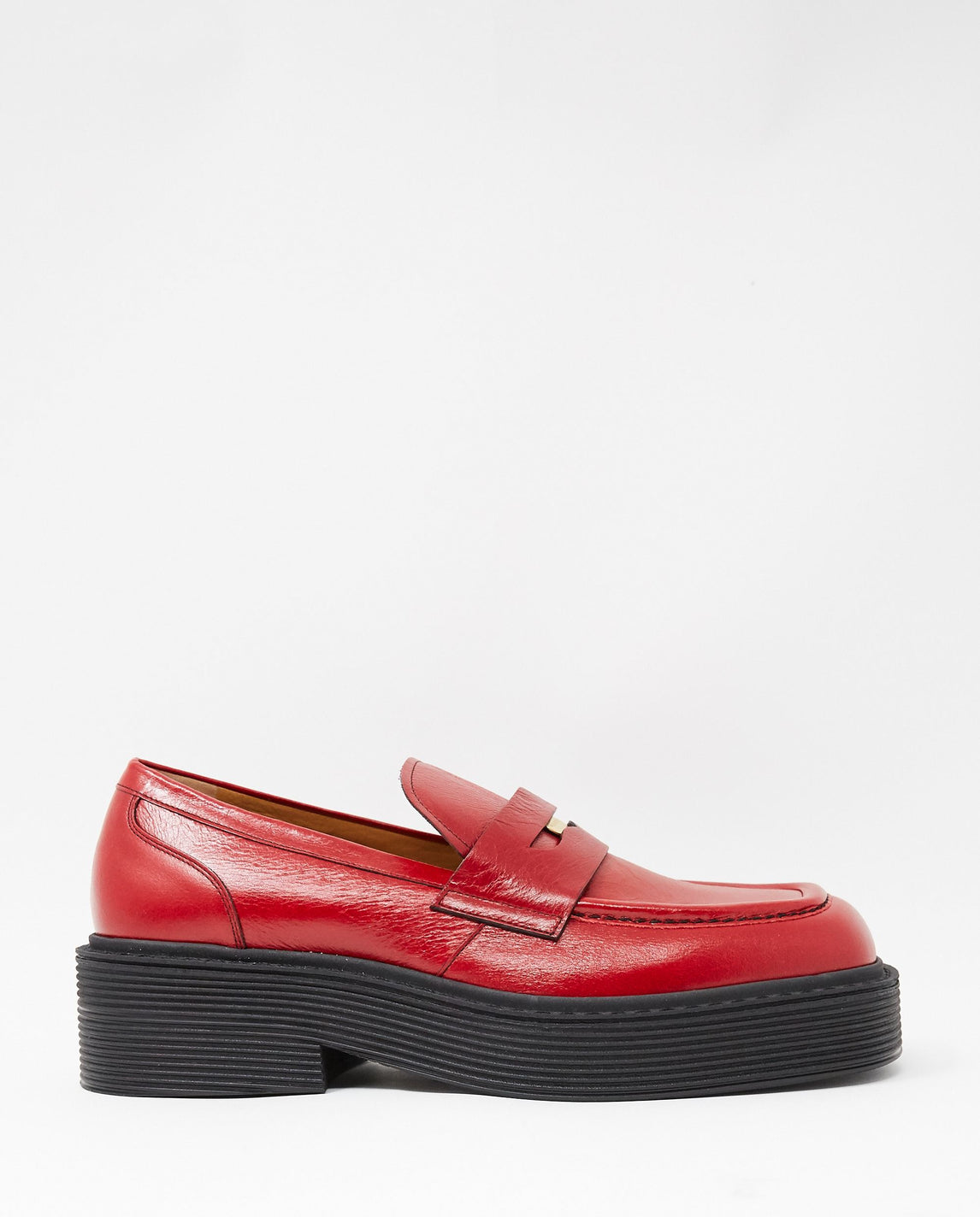 Mocassin Shoe - Red UNISEX MARNI