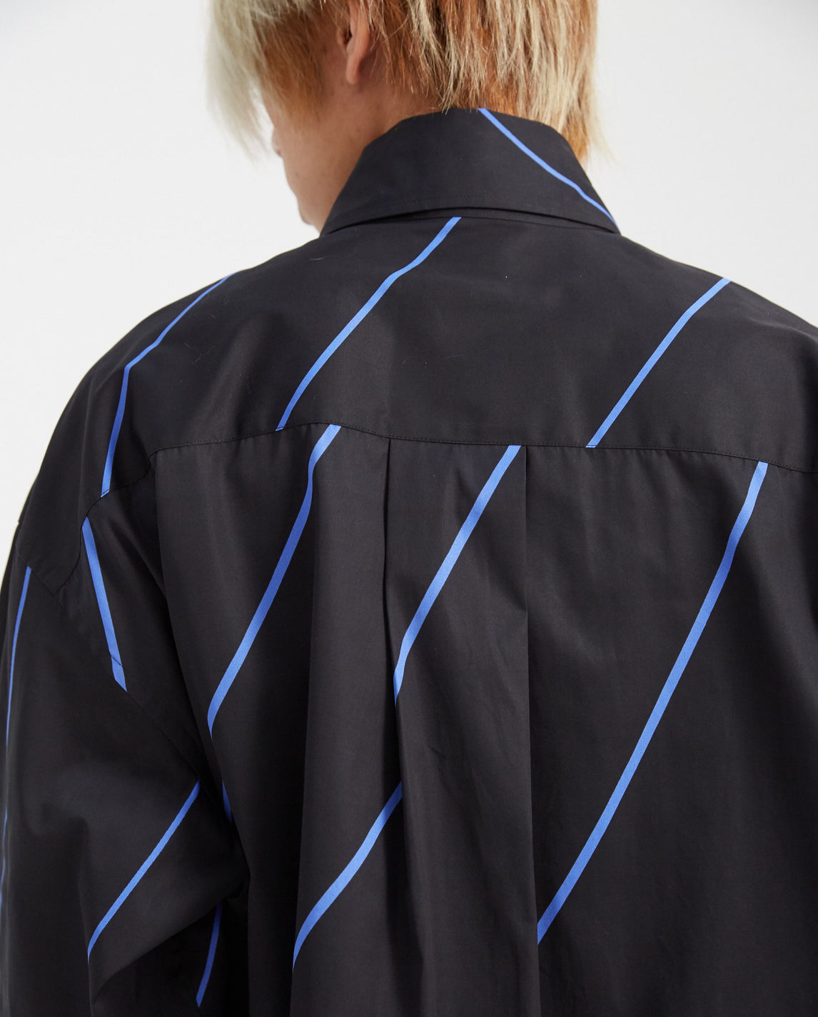 Multi Layered Heart Shirt - Black/Blue MENS MARNI