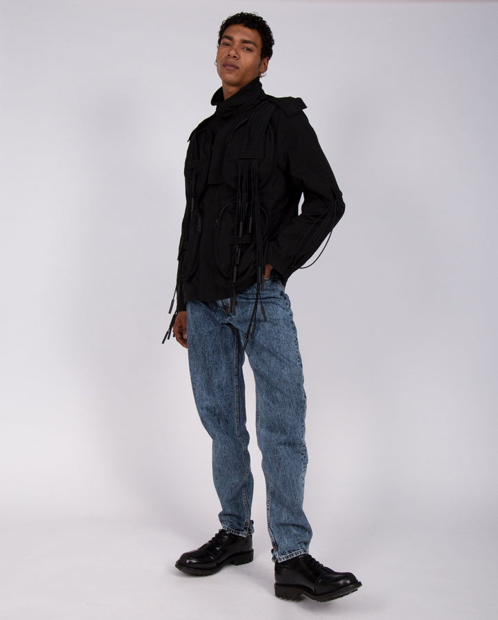 Multi Pocket Flight Jacket - Black MENS A-COLD-WALL
