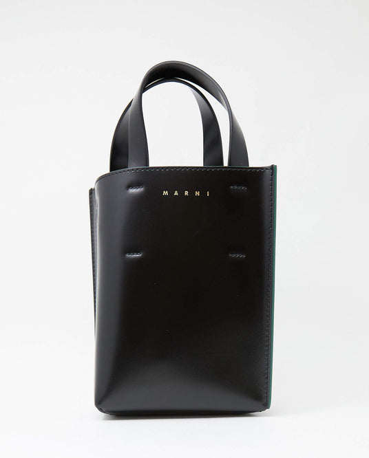 Museo Nano Crossbody Bag - Black WOMENS MARNI