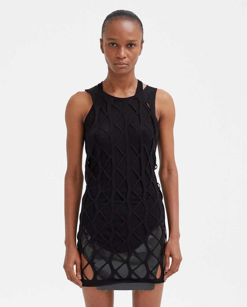 Net Tank - Black WOMENS RICK OWENS