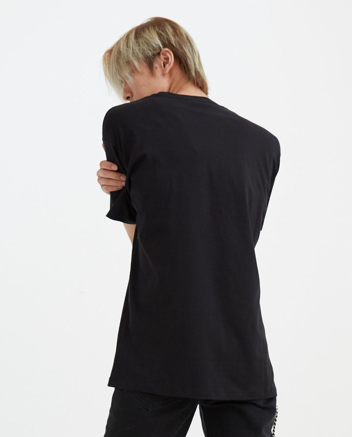 Nevada Big Fit T-Shirt - Black MENS RAF SIMONS