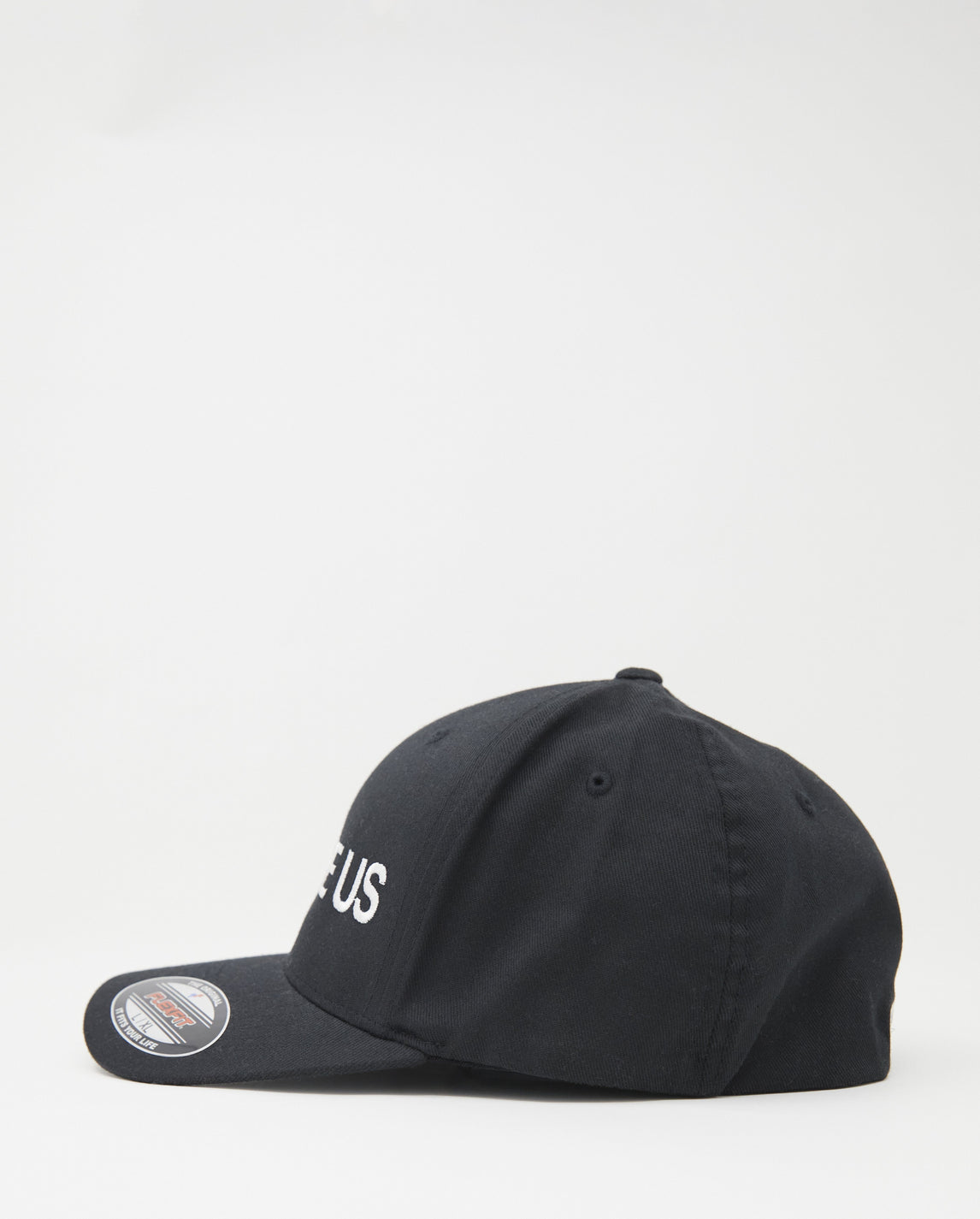 Now Here Us Cap - Black/White UNISEX SAMIZDAT