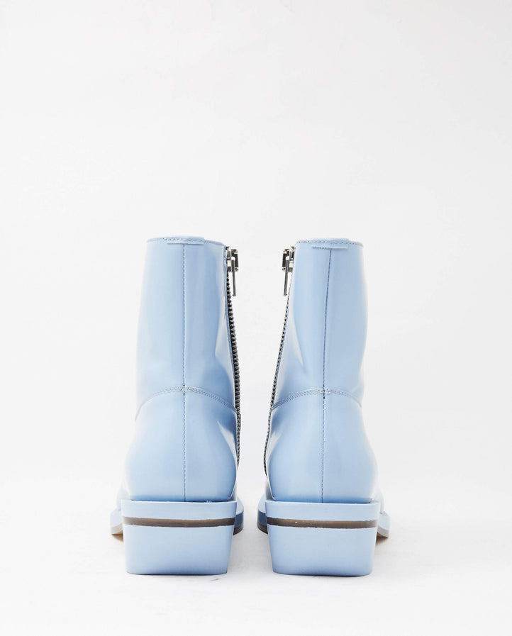 Number 5 Boot - Patent Blue UNISEX ION