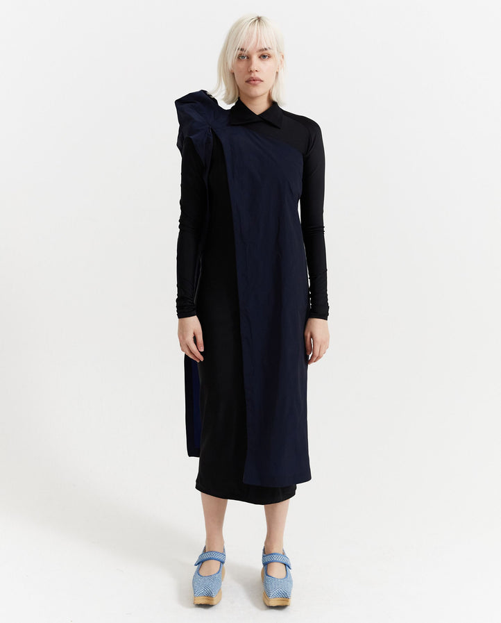 Nylon Cover Dress - Navy WOMENS JOHANNA PARV