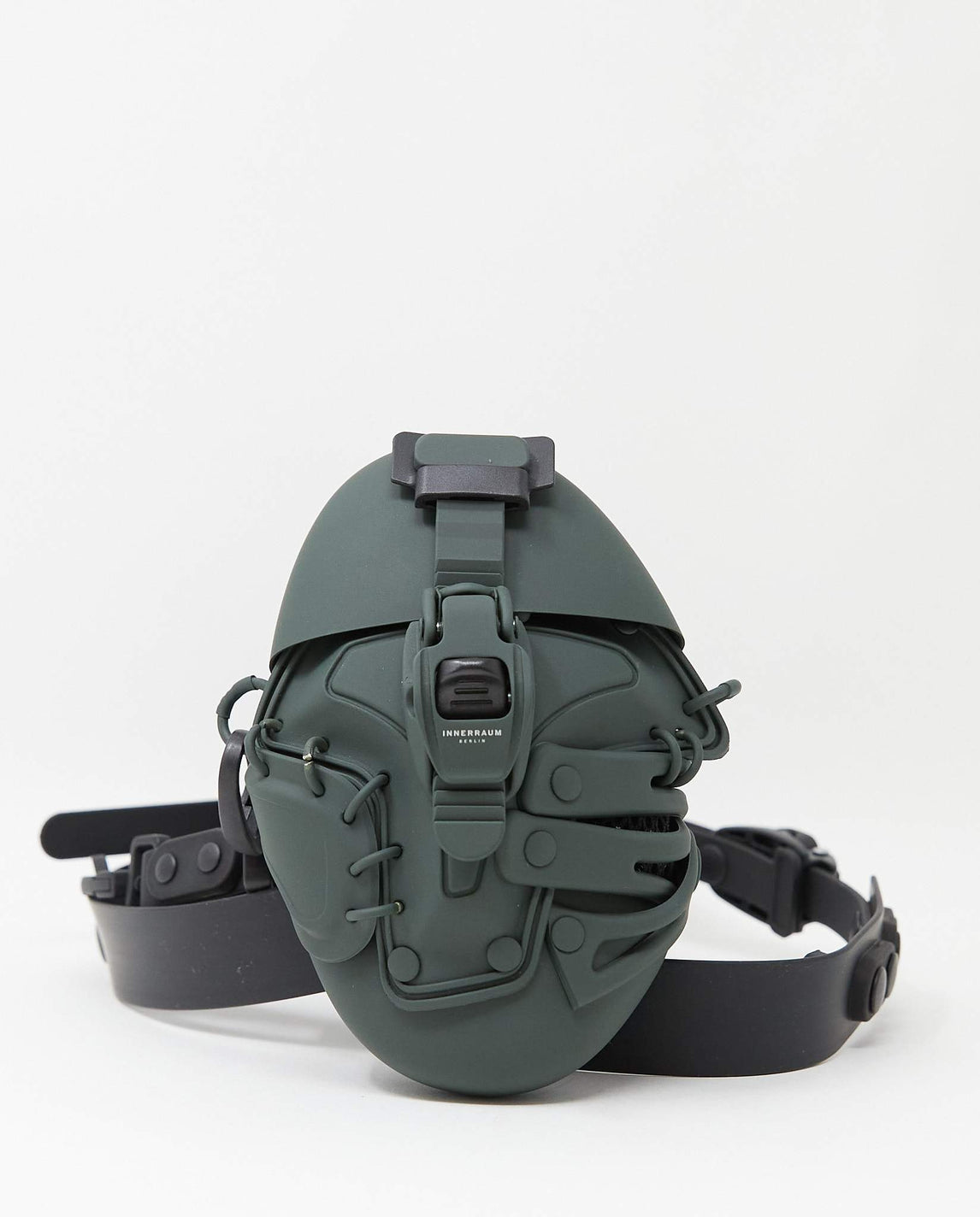 Object I09 Body Bag - Matt Green UNISEX INNERRAUM